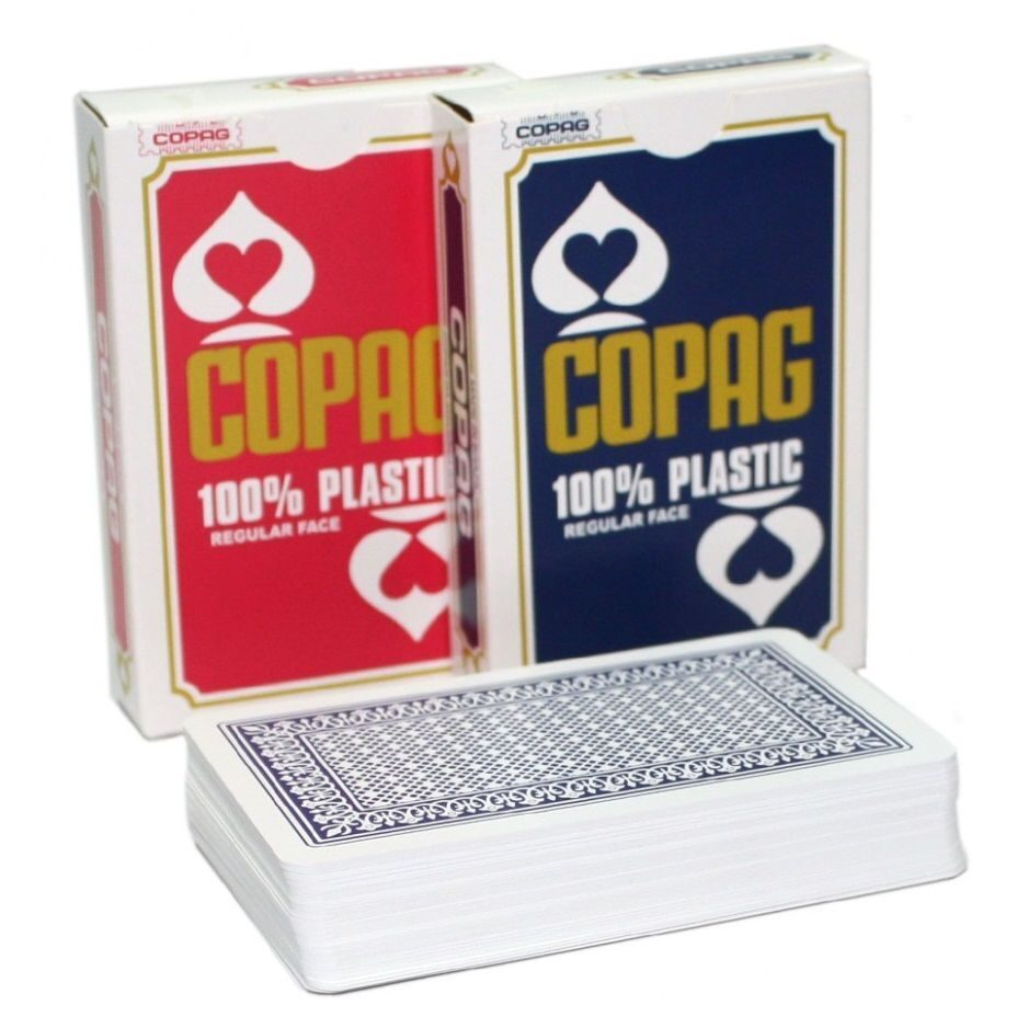 Карты для покера Copag Bridge Size regular face